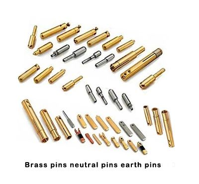 Brass Pins Neutral Pins Brass Earth Pins Brasspins Neutralpins Brassearthpins We Are One Of The Largest Manufactu Brass Compression Fittings Brass Pin Plugs