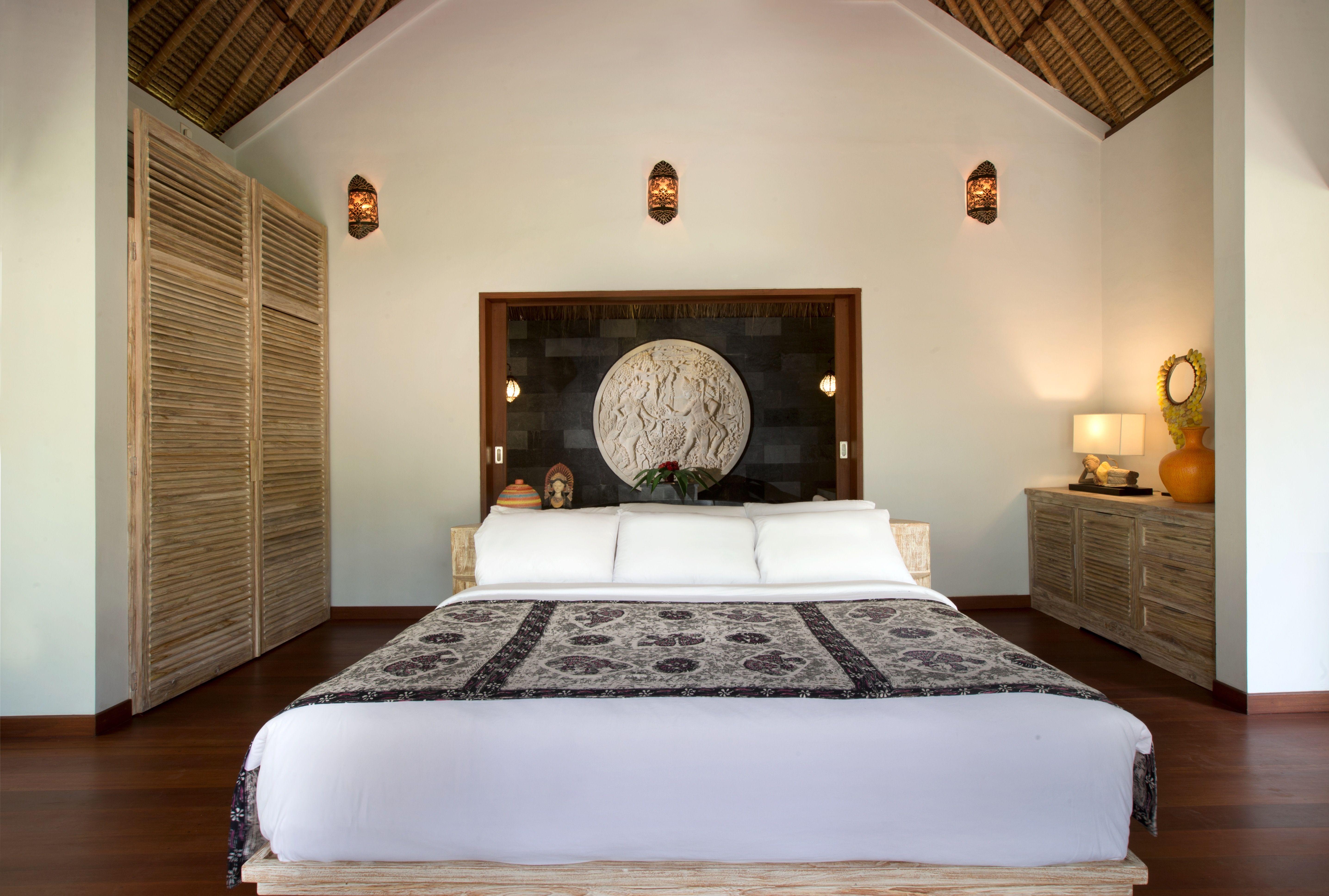 Pavilion guest room at Alam Bulan Villa in Ubud Bali with ...