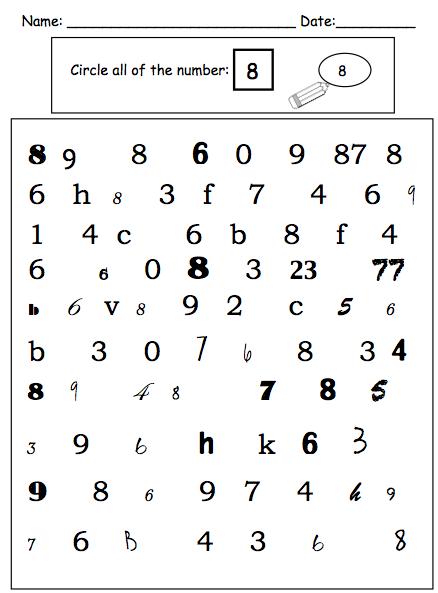 Visual Math Activities for Children with Autism | educação especial ...