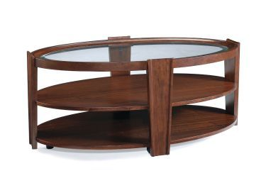 Oval Cocktail Table W/ Casters, Magnussen, Nuvo