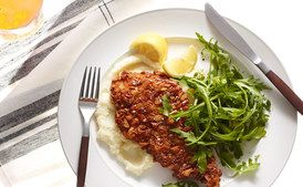 Pretzel-Crusted Chicken Cutlets Ver.2 / Photo by Andrew Purcell, food styling by Rhoda Boone