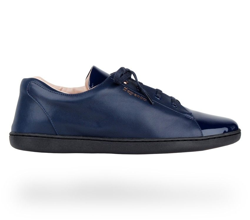 6aa5ad5adcda Sneakers  Chouchou   Classic blue Patent leather and Calfskin.  Repetto   RepettoSneakers  RepettoRunners