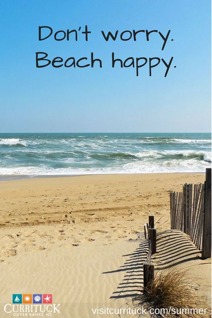 Summer in the Outer Banks | Beach quotes, Beach signs, Beach