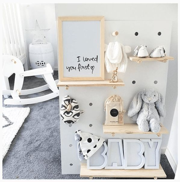 Bedrooms · Kmart Pegboard   Our Urban Box
