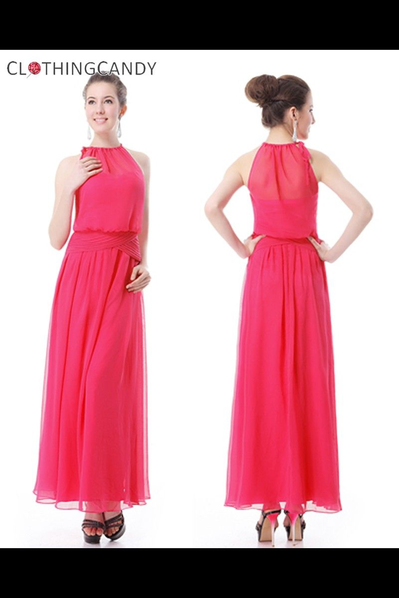 Ruched pink dress prom dresses maxi gowns sizes xs to xxxl shop
