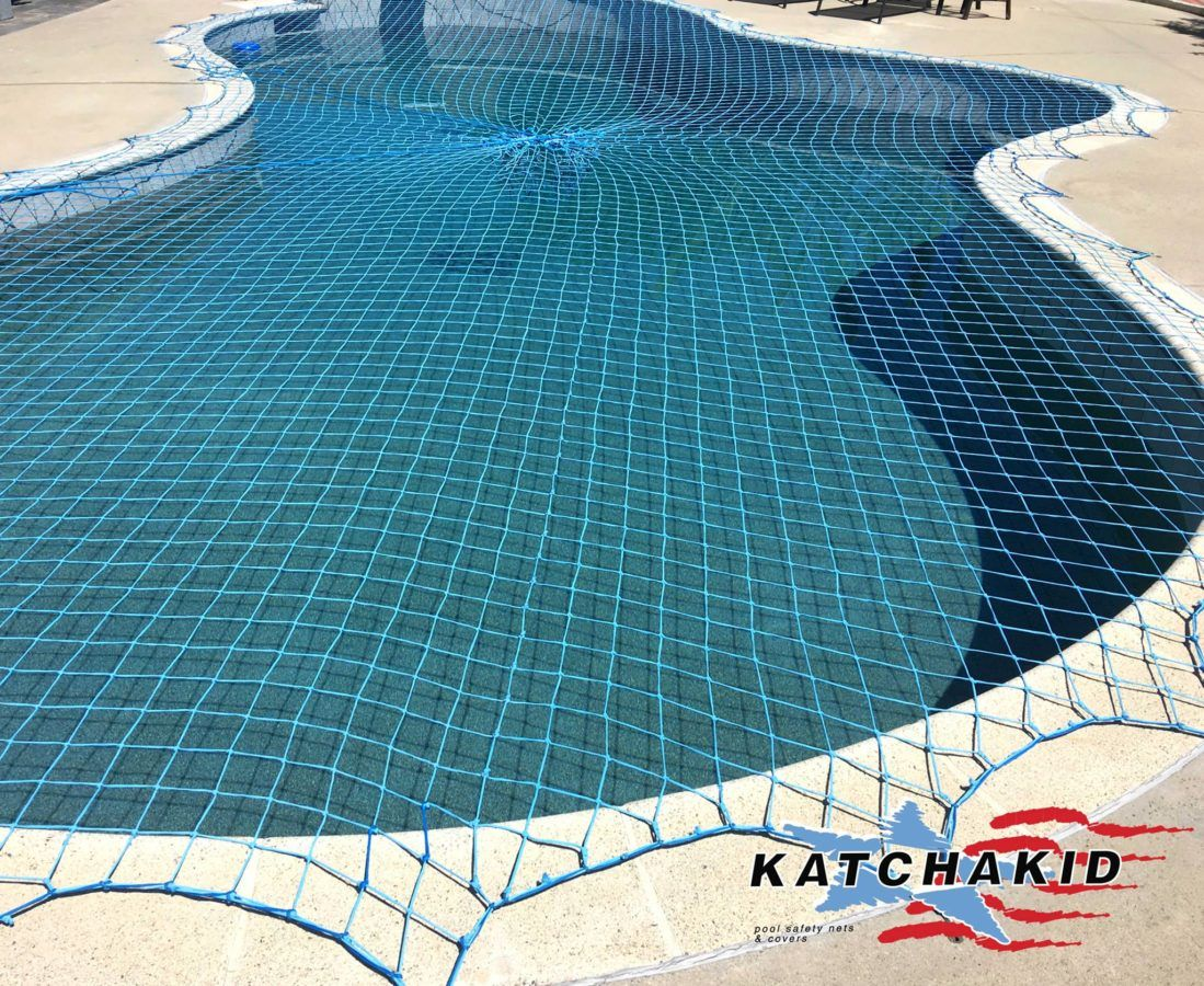 Pool Safety Net The Original Katchakid Pool Net Cover Pool Safety Net Pool Nets Pool Safety