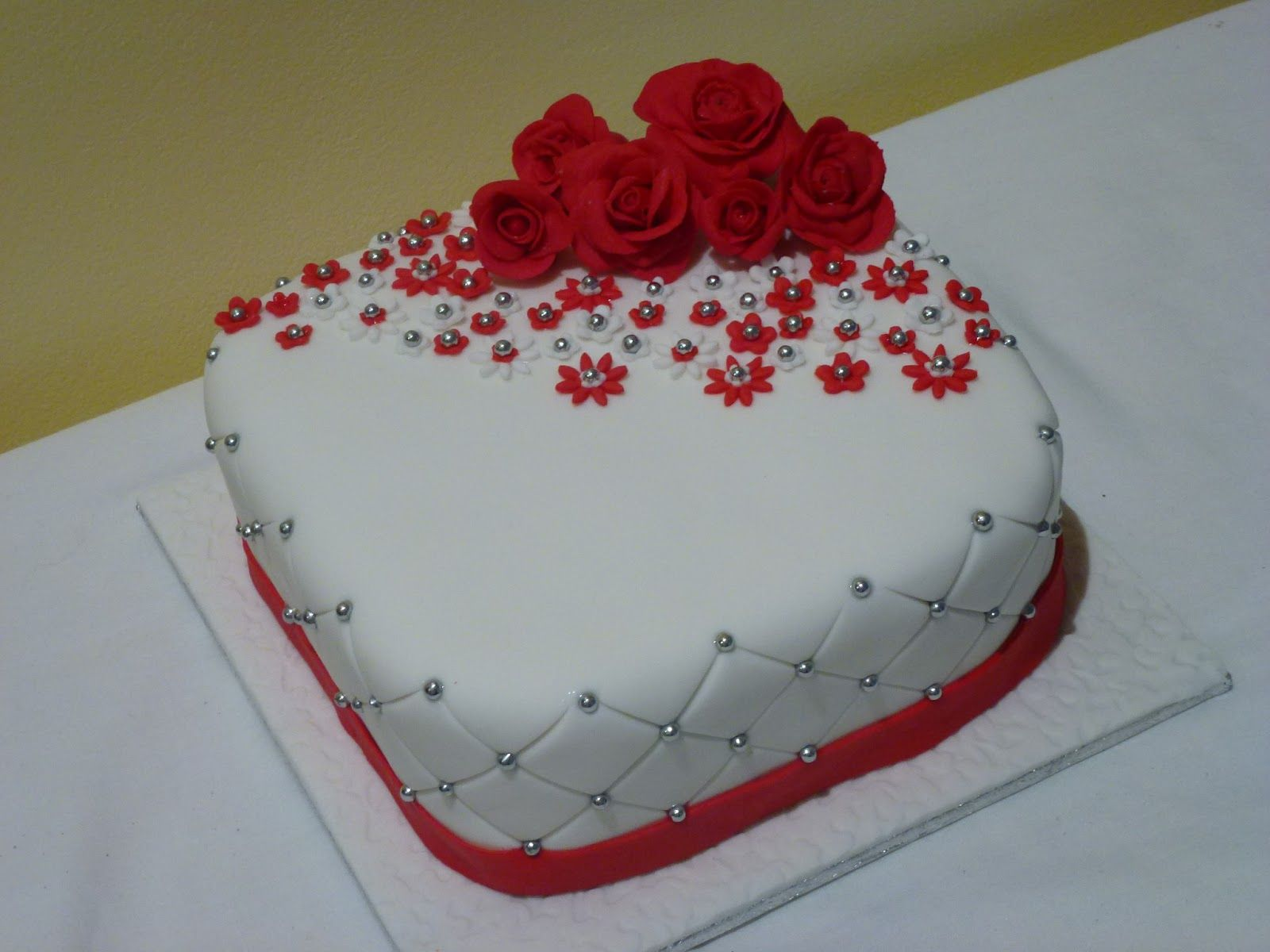 anniversary cake designs - Google Search  Wedding Anniversary Cakes ...