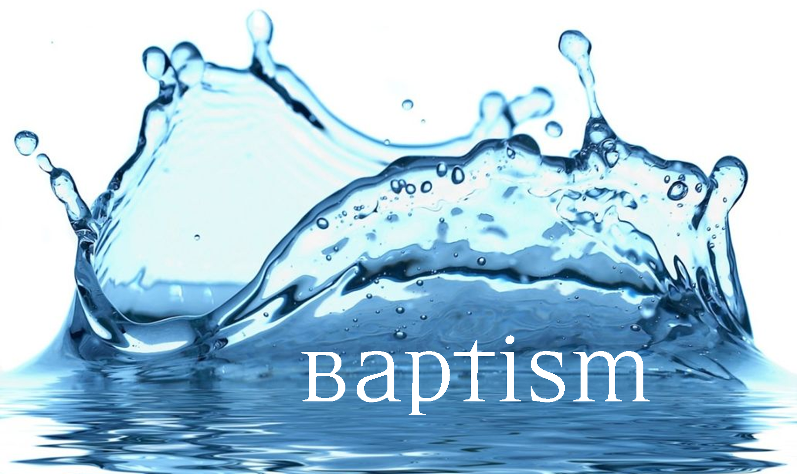 Image result for baptismal water