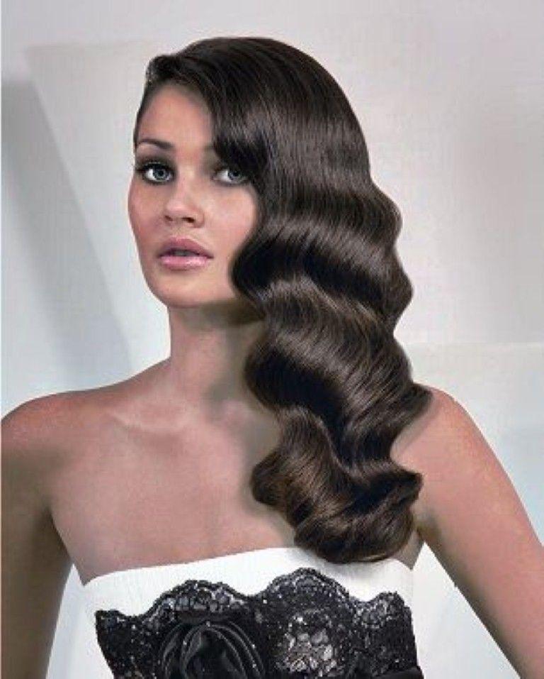 Schone Lange Frisuren 1920er Jahre Flappers Neue Haare Modelle Wasserwelle Frisur Lange Haare 20er Jahre Frisur Wasserwellen Frisur