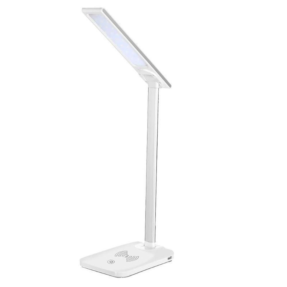 Lamp Folding Dimmable Touch Desk Lamp Night Light Wireless Phone Charger For Iphone X Book Lights Ecomyfy Wirelesscharging Wirele Book Lights Desk Lamp Lamp
