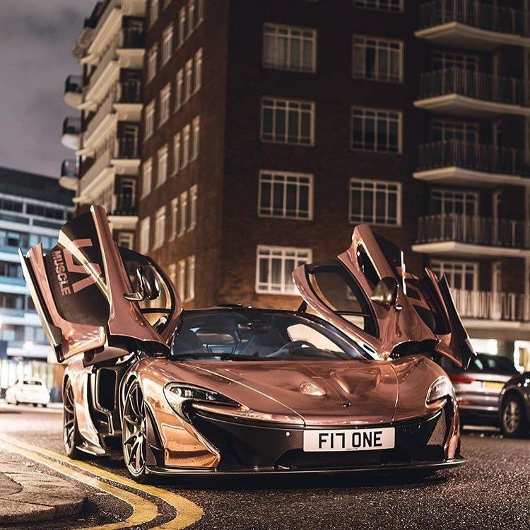 Rose Gold McLaren P1 Insane Car In An Spec