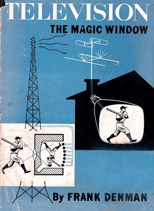 Portada del libro de Frank Denman, TELEVISION, la ventana mágica, 1952.