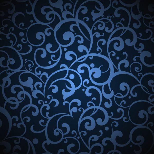 dark blue vintage floral pattern background httpwww