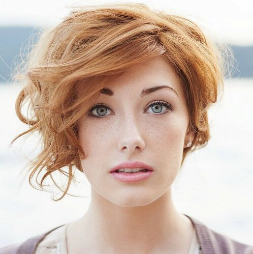Curly Pixie Cut For Oval Faces Hair Pinterest Hair Styles