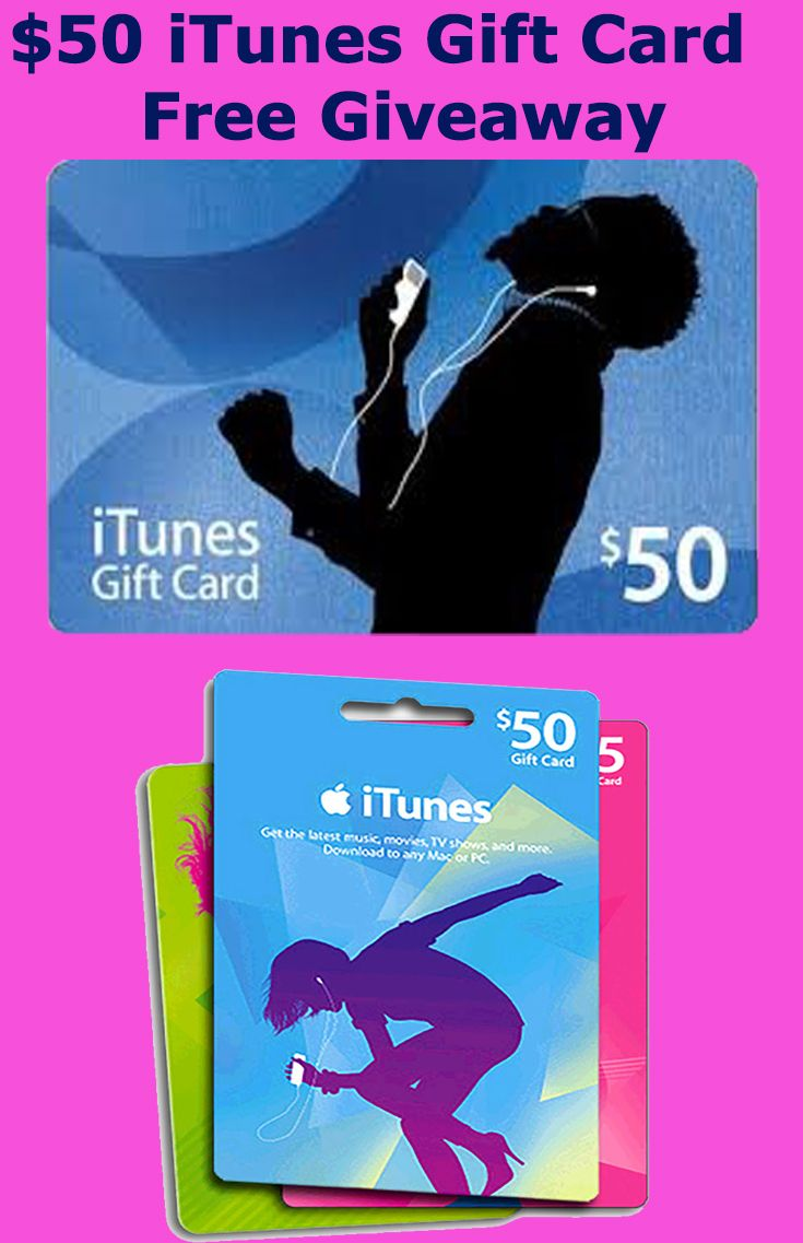 50 dollar itunes gift card code free giveaway in 2020