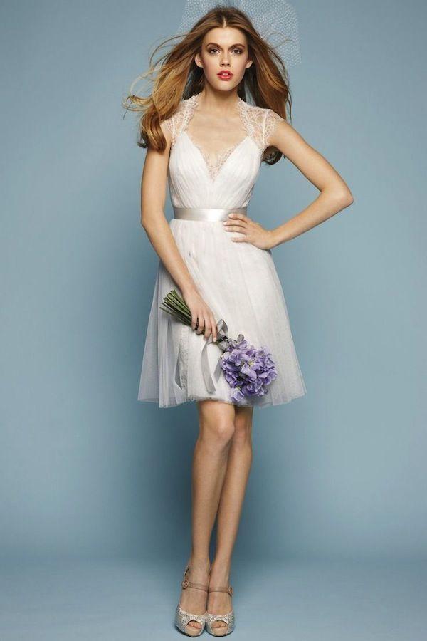 Spotlight: Short Wedding Dresses | Short wedding dresses, Spotlight ...