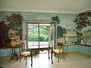 Photo Of The Dufour Room Or Tea Room In The Swiss Cottage At Cahir County Tipperary Cottage Swiss Cottage County Tipperary