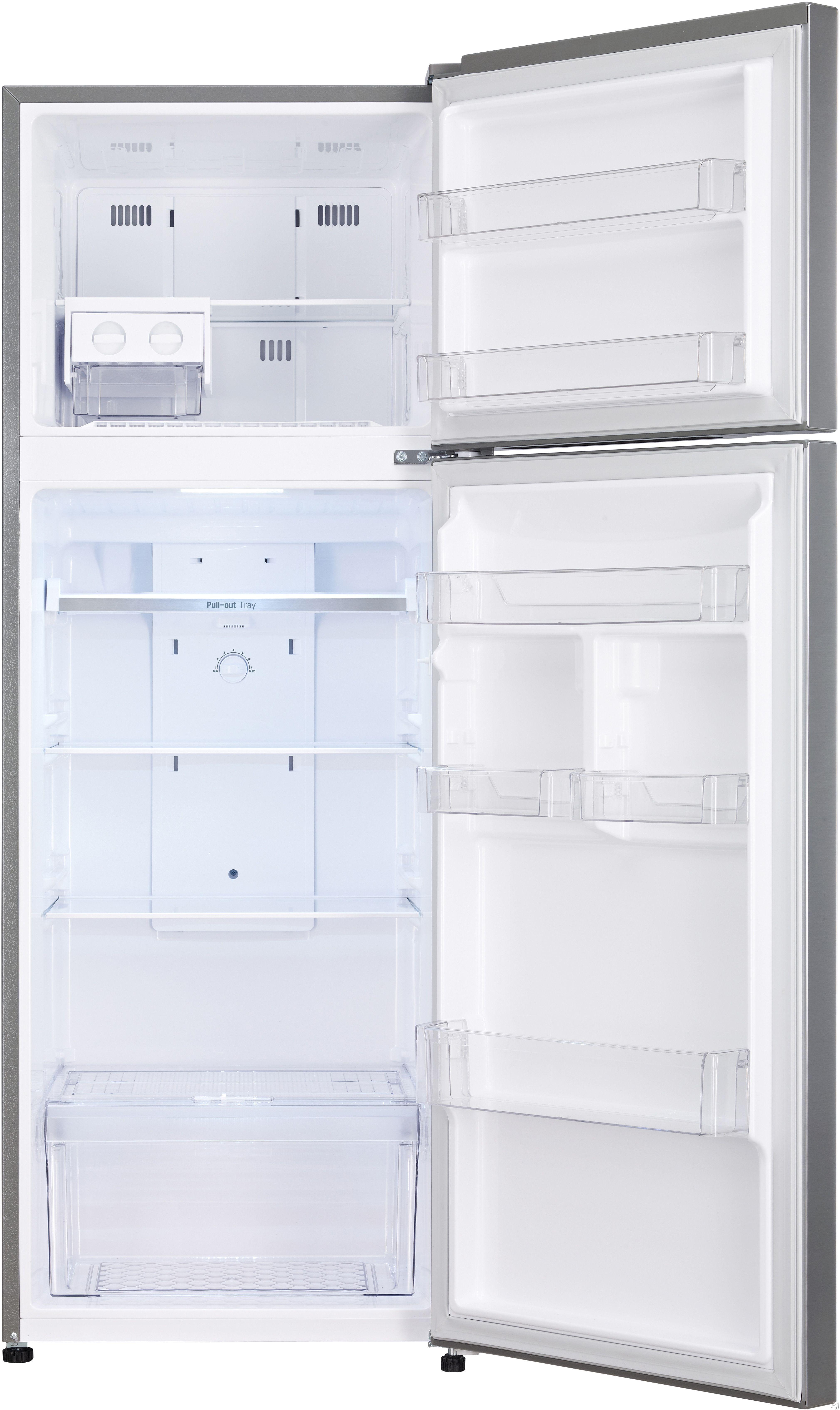 Top Freezer Refrigerator With 3 Spill Proof Shelves 4 Door Bins Smartdiagnosis Lodecibel Quiet Operation Auto Closing Hinge And 2017 Doe Compliant