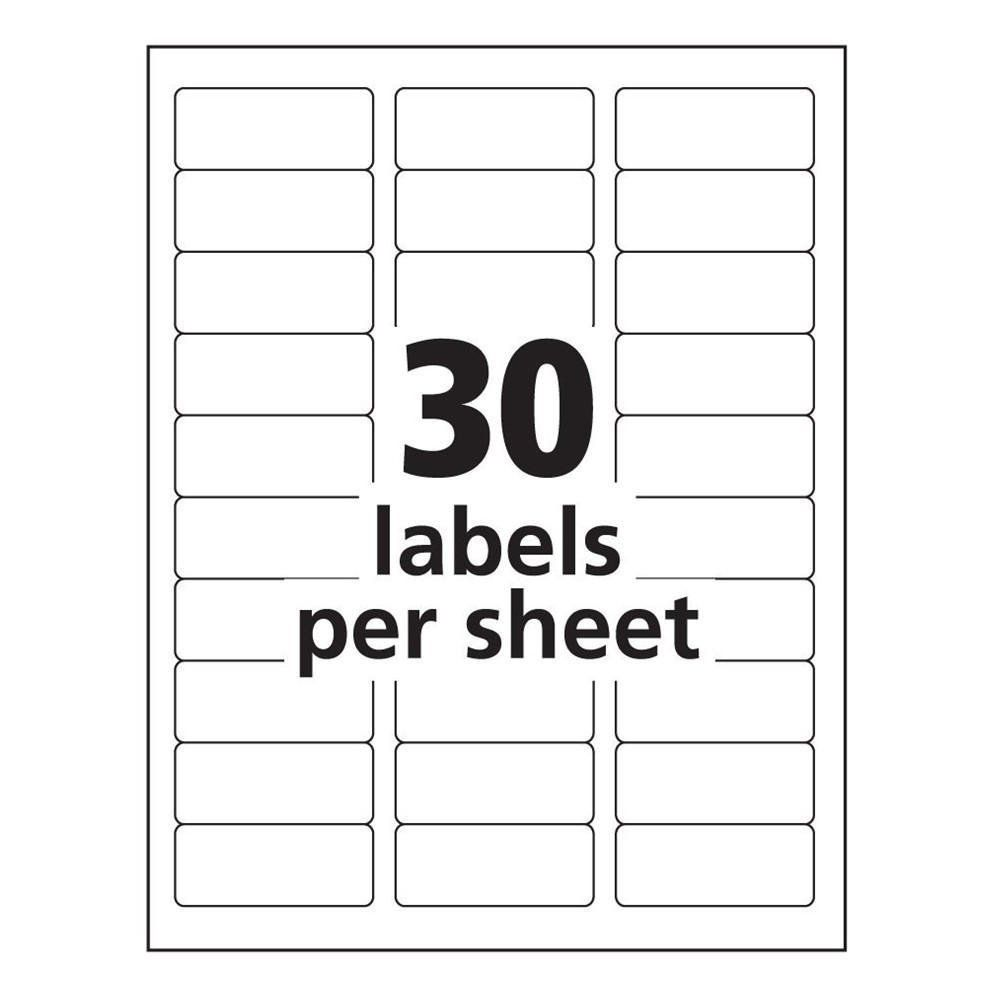 Label Template In Word Avery 8160 Label Template Word Templates Data Return Address Labels Template Address Label Template Free Label Templates Free printable address labels template