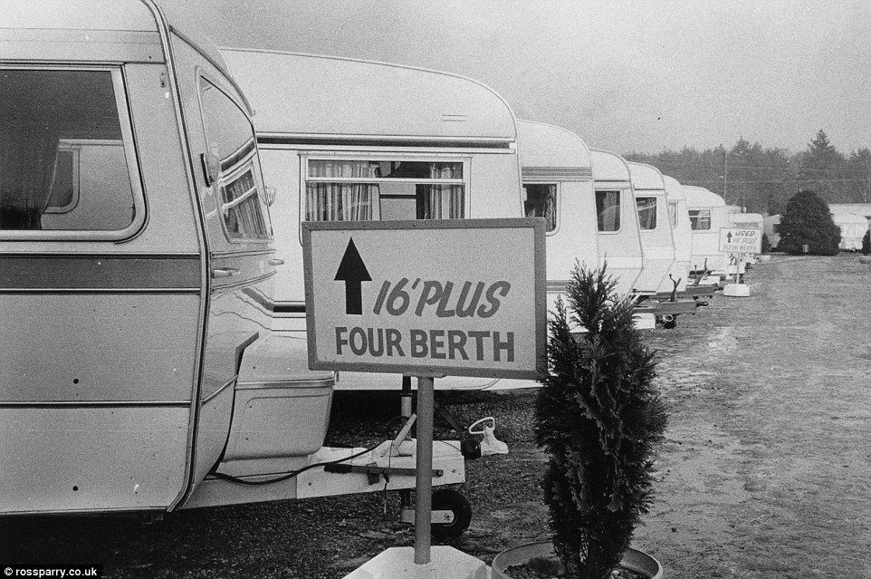 1980s Caravan Park The Collection Of Photographs Pays Homage To Ever Changing Designs And
