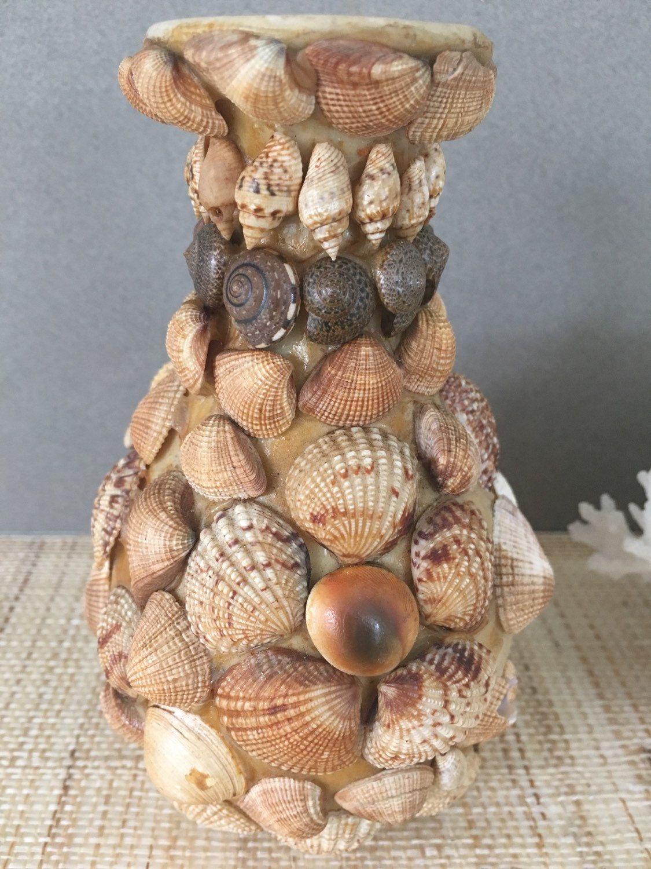 Vintage seashell vase vintage seashell art shell art shell vintage seashell vase vintage seashell art shell art shell vase seashell bud reviewsmspy