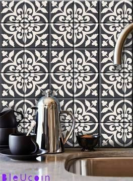 metallic tile decals | Kitchen | Pinterest | Tile decals and House