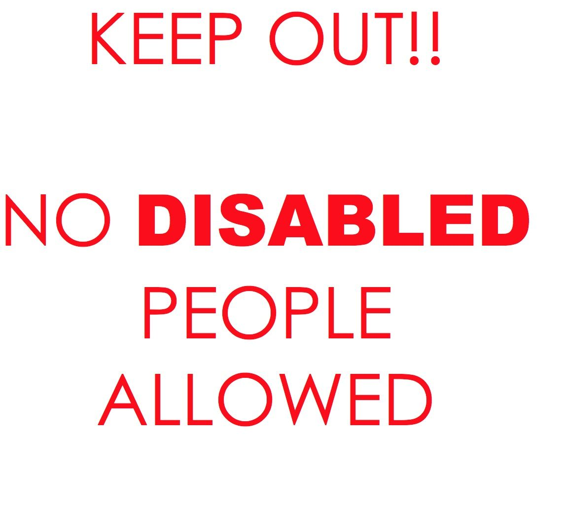 CITY OF NEW WESTMINSTER, BC ANNOUNCES EXCITING NEW SERVICE DESIGNED TO EXCLUDE, MARGINALIZE AND DISCRIMINATE AGAINST DISABLED PEOPLE. Excited? - Disabled people, Service design, New westminster - 웹