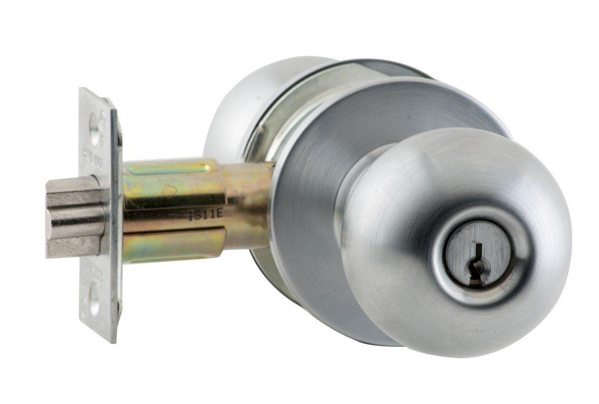 Schlage A53PD-ORB Orbit Keyed Entrance Door Knob Set Oil Rubbed ...