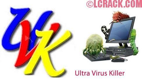 UVK Ultra Virus Killer 2018 For Windows, 7, 8, 10 + MAC