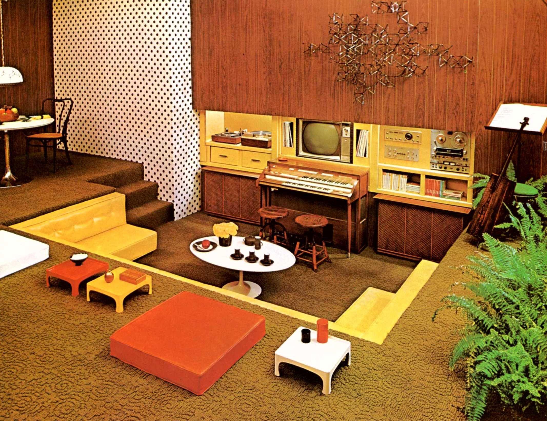 Nicol House In Kansas City Google Search 1970s Decor