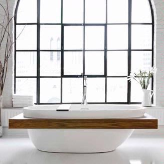 OBSESSED: WetStyle Be BBE 01-SHELF :: Bath Tub from Home & Stone