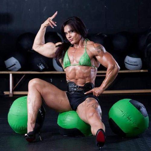 Bodybuilding Frauen Domina