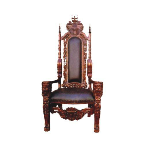 Royal Kings Throne Chair Royalty Home Elegance Design With White Glove Delivery He Would Love Eating Din Din In King Chair Handcrafted Chair King Throne Chair
