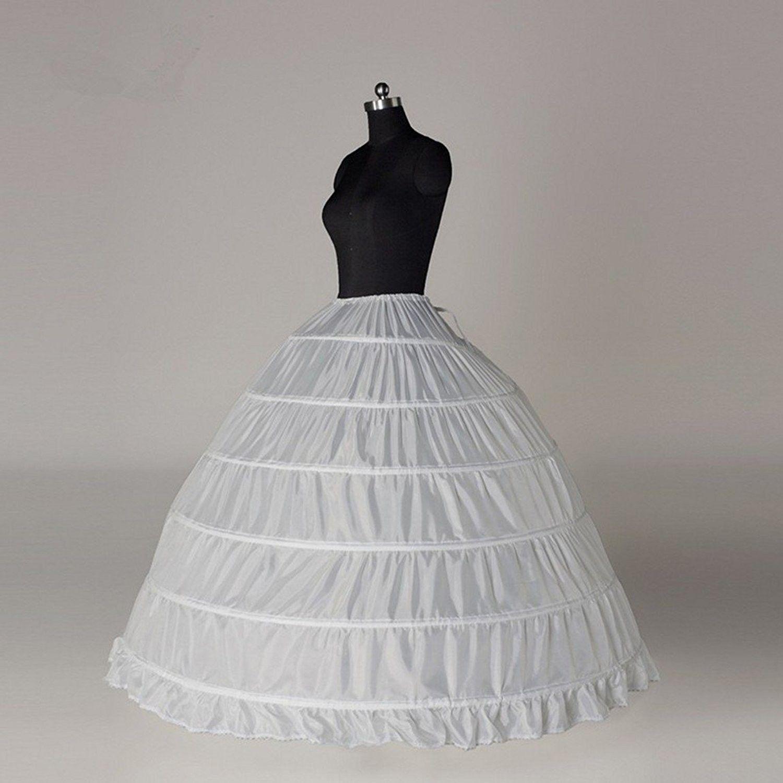 21b8f82f6c08 Women's Clothing, Lingerie, Sleep & Lounge, Lingerie, Slips, Underskirt  Bridal Petticoat Ball Gown Petticoat Tulle Underskirt Crinoline Petticoat 6  Hoop ...