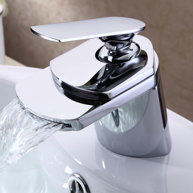Lightinthebox® Contemporary Deck Mount Single Handle Widespread ...