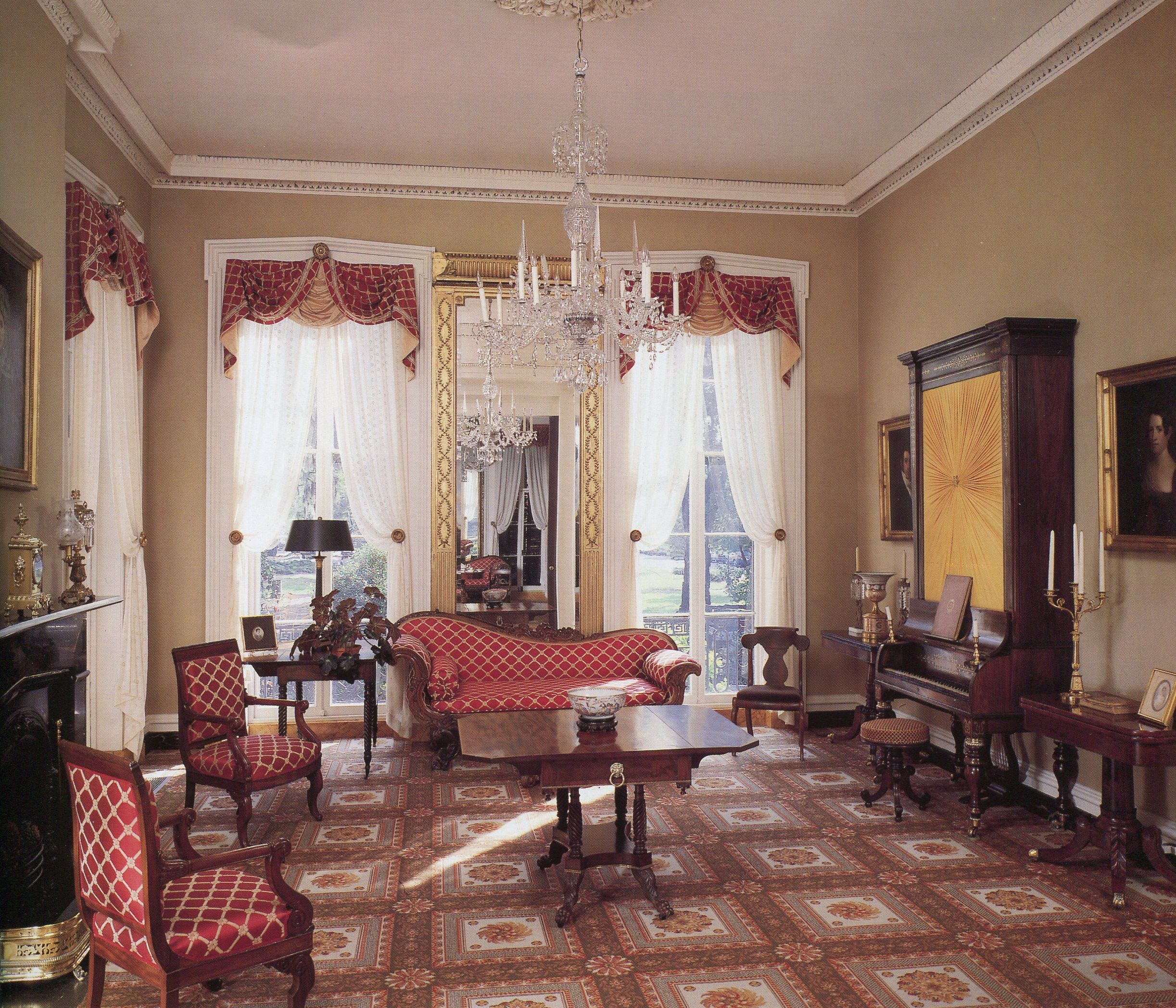 Andrew low house 329 lafayette square savannah ga - Georgia furniture interiors savannah ga ...