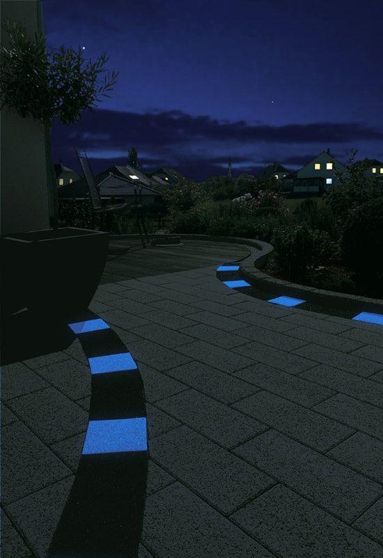 Image Result For Glow In Dark Paver Garden Design Pinterest Gardens
