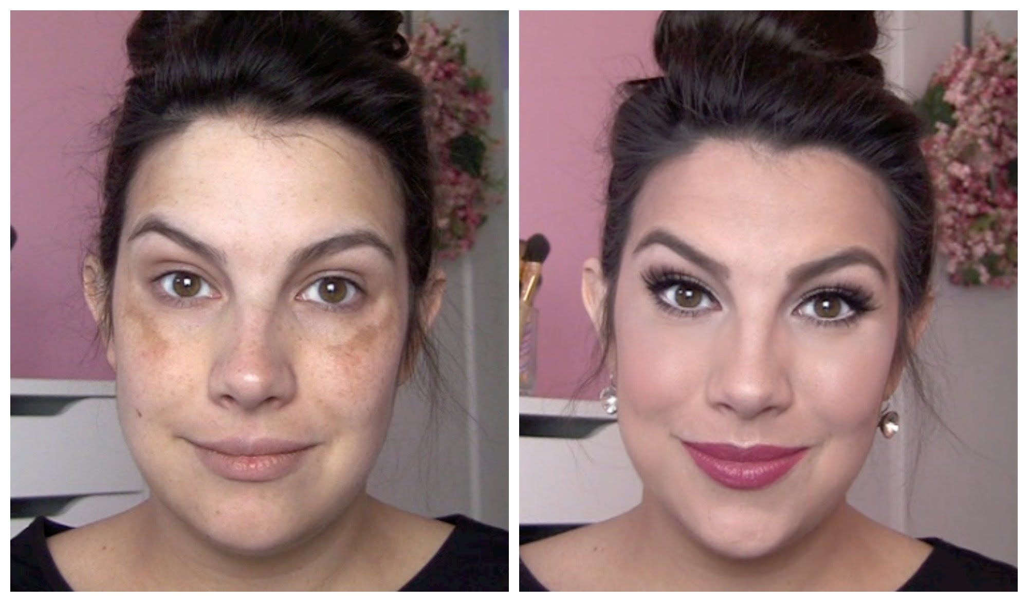 Full coverage makeup for melasma discoloration melasma