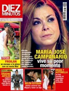 El Kiosko Rosa 5 De Julio De 2017 Magazinespain Com Revista Diez Minutos Messi Y Antonella Kiosko