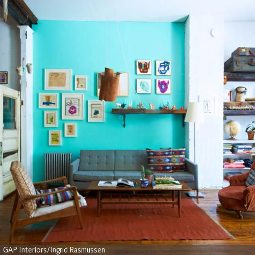 Wohnzimmer im Retro-Look | Playrooms, Living rooms and Room