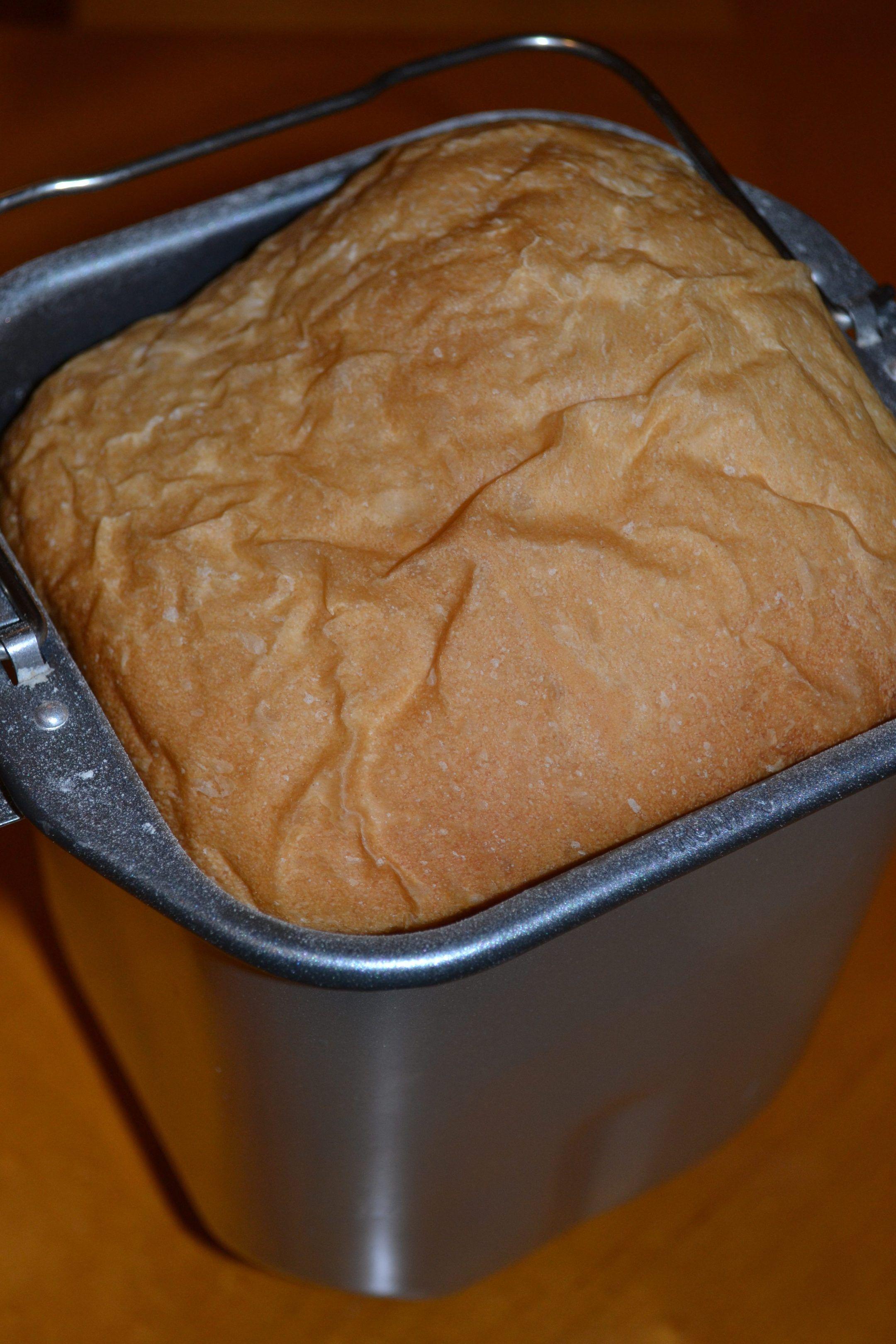 Basic White Bread in the bread machine | Recipe | White ...