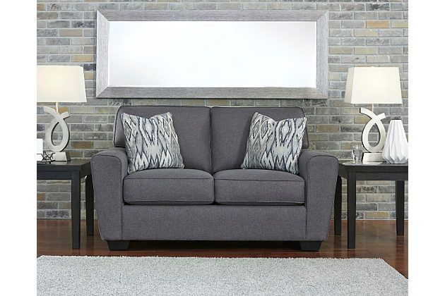 Best In The Chicest Shade Of Gray Calion Loveseat's Linen 400 x 300