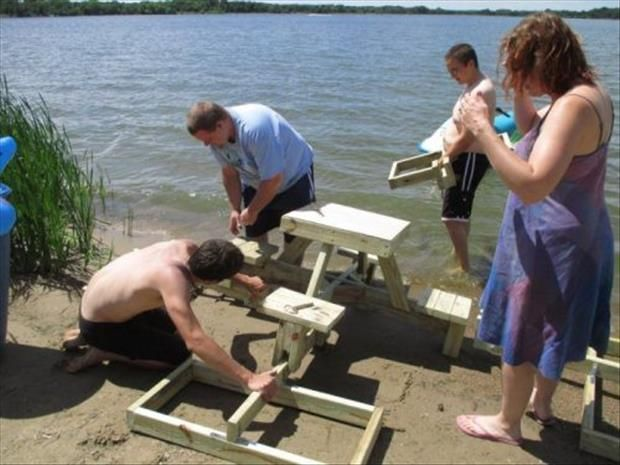 Dump a day how to make a floating picnic table 24 pics home dump a day how to make a floating picnic table 24 pics watchthetrailerfo