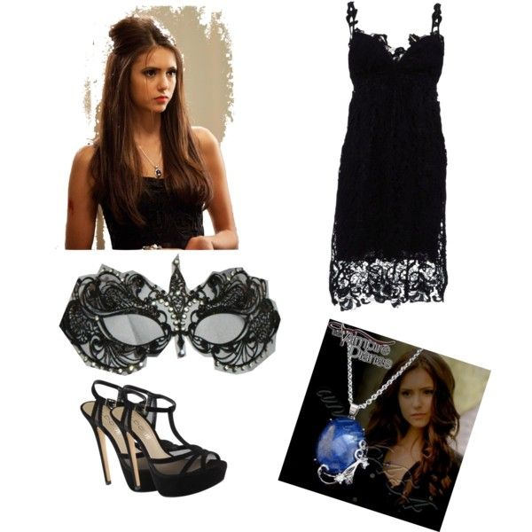 Katherine Pierce Masquerade by lara16xoxo on Polyvore featuring polyvore,  fashion, style, Ermanno Scervino