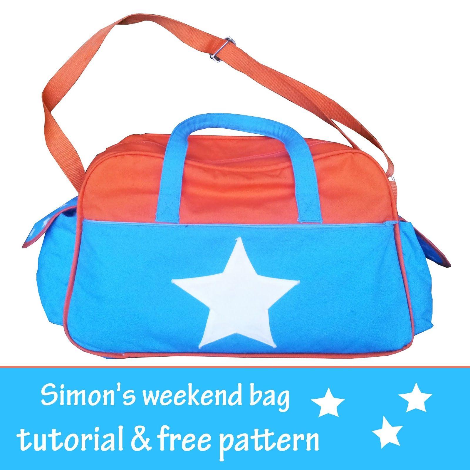 sewbidoo: Simon\'s weekend tas / Simon\'s weekend bag | bags, purses ...