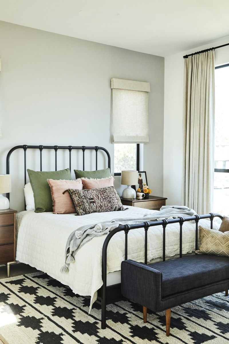Interior Designer Carly Waters Redesigns a Modern Meets ... on Modern Boho Bed Frame  id=92355