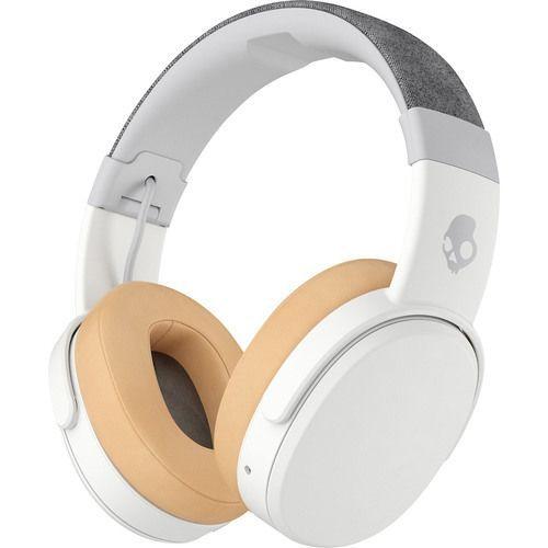 b66d8f2feec Skullcandy Crusher Bluetooth Wireless Over-Ear [Enhanced Bass] Headphone  with Mic (Gray and Tan) For Samsung Galaxy / Motorola / LG/ Zte/ Apple  Iphone ...