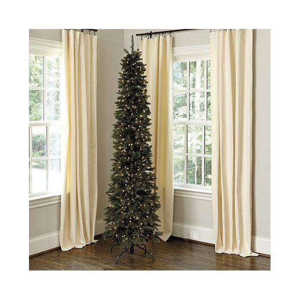 Highlands Pencil Prelit Christmas Tree Christmas decor Pinterest