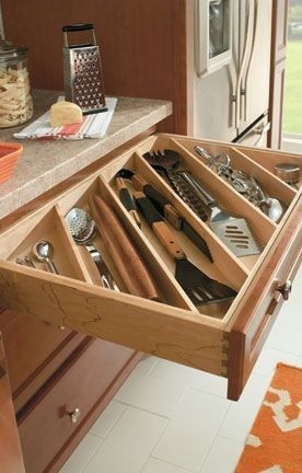 I will convert one of my kitchen drawers this way! I have ...