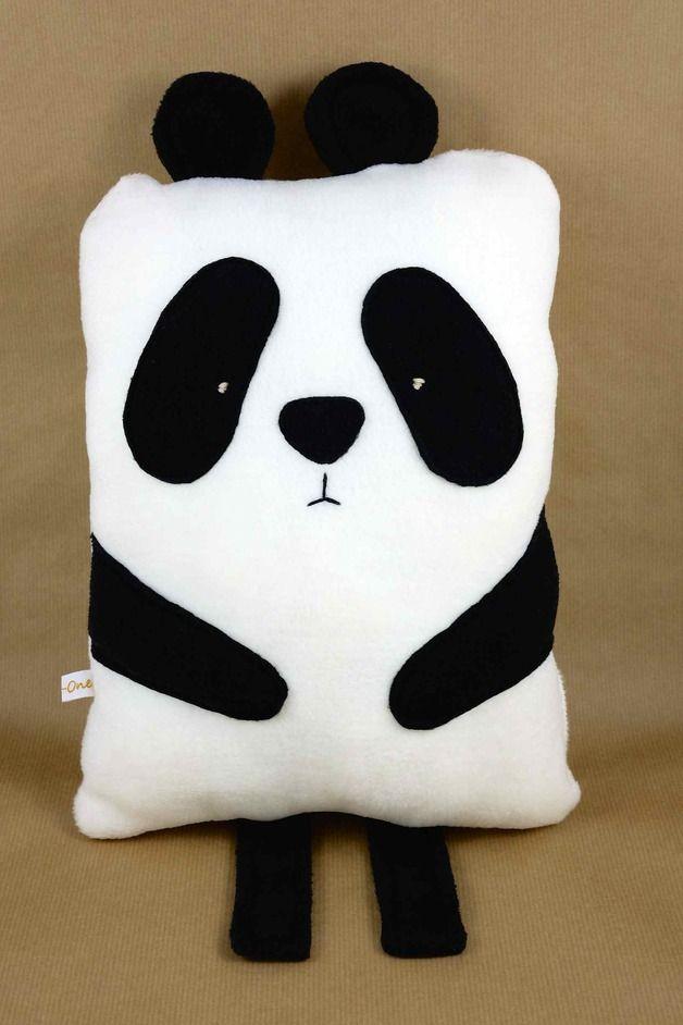 Kuschelkissen Pandabär | panda birthday | Pinterest | Nähen ...
